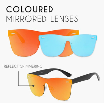 Infinity Fashion Men Mirror Lenses Wooden Sunglasses Multi Color woman Sunglasses For Unisex Driving Rimless Polarized Glasses