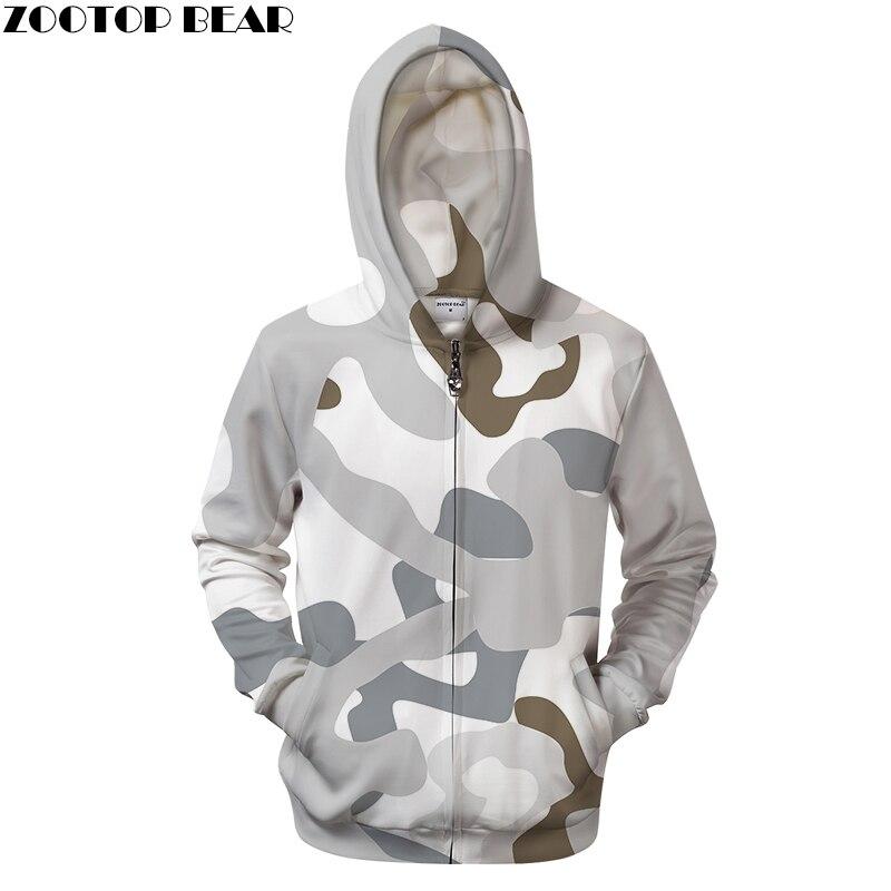 8e260e3e2f103 Off White Camo 3D Print Hoodies Men Women Sweatshirt Casual BrandTracksuit Zipper  Groot Coat Pullover Hoodie Dropship ZOOTOPBEAR