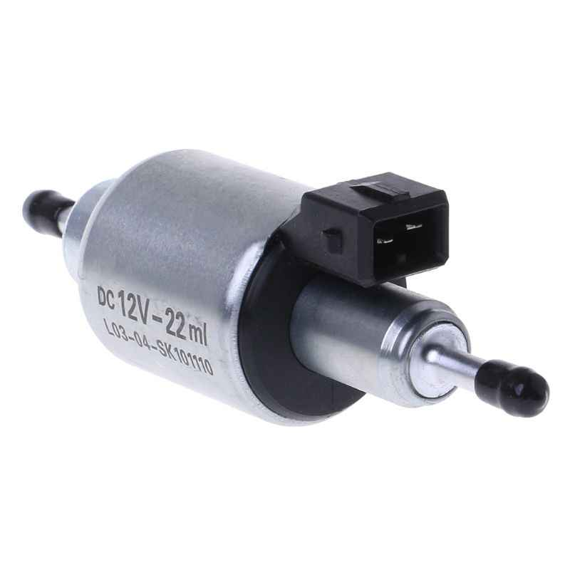 Car Oil Fuel Pump 12V For 2KW To 5KW For Webasto Eberspacher Heaters Auto Replacement Iron Stable Performance