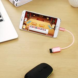 Image 5 - מיקרו USB 2.0 OTG כבל על מתאם זכר מיקרו USB לנקבה USB עבור סמסונג S7 S6 קצה S4 S3, LG G4, DJI ניצוץ Mavic מרחוק