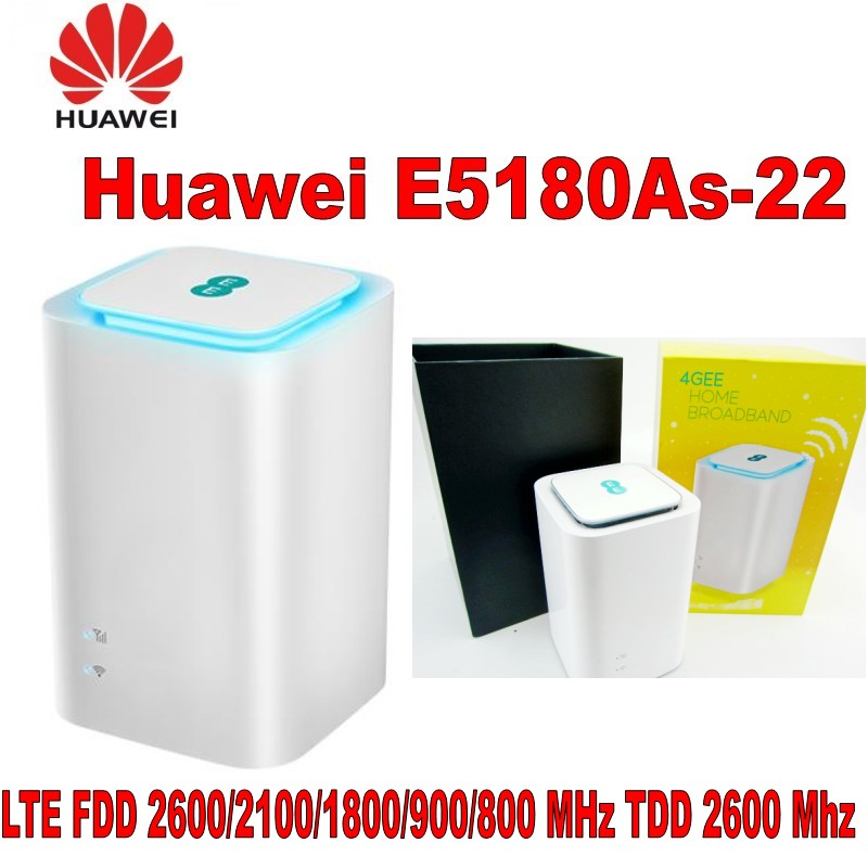 Unlocked Huawei E5372S  4G LTE TDD 2300MHz Wireless Router 3G WCDMA 900/2100MHz WiFi Mobile Hotspot,Support 10 Users