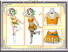 Gumi Cosplay Costume from Vocaloid Cosplay Holloween Christmas Party Holiday