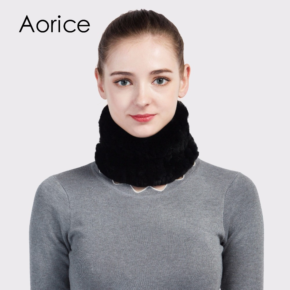 Apparel Accessories Open-Minded Pudi Sf714 Real Rabbit Fur Scarf Womens Brand New 2017 Genuine Fur Scarves Rings Muffler Neckerchief Wrap Hair Head Band A Great Variety Of Goods