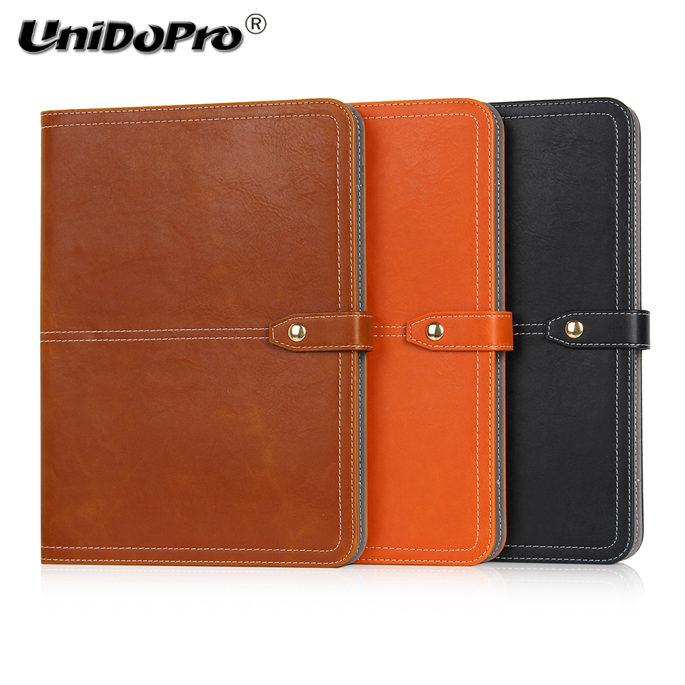 Unidopro Shockproof PU Leather Protective Folio Case for Cube Power M3 Freer X9 T10 T12 U12GT Tablet w/ Multi-angle Stand Cover