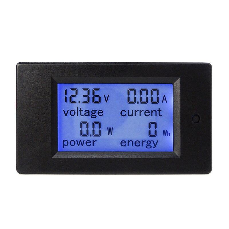 20pcs New DC 6.5 100V 0 100A LCD Display Digital Current Voltage Power Energy Meter Multimeter Ammeter Voltmeter