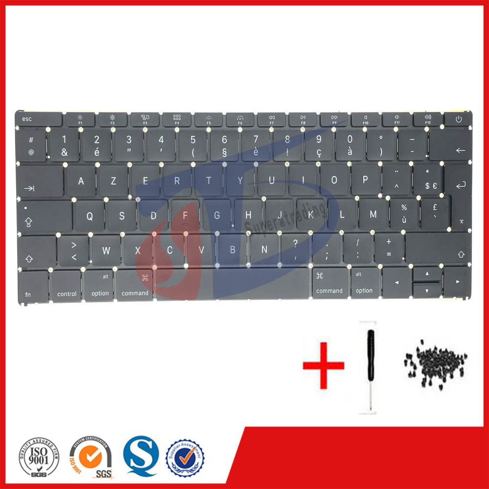 2016year NEW perfect for MacBook 12 Retina A1534 FR French France Keyboard clavier without Backlight MLHA2 MLHC2 EMC2991 спот slv enola b spot slv 152021