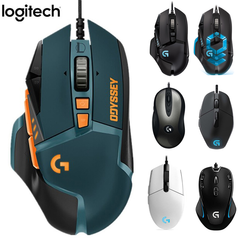 Logitech Gaming Mouse LOL MX518 Limited-Edition Classic G402 G302-G403 G300s G502 Hero