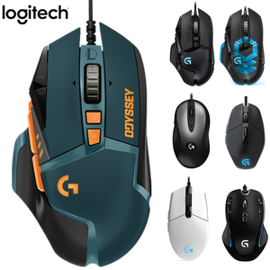 Logitech G102 Gaming Mouse G502 Hero (LOL) Limited Edition MX518 Classic G402 G300s G302 G403 wired Mouse Support Desktop/Laptop(China)