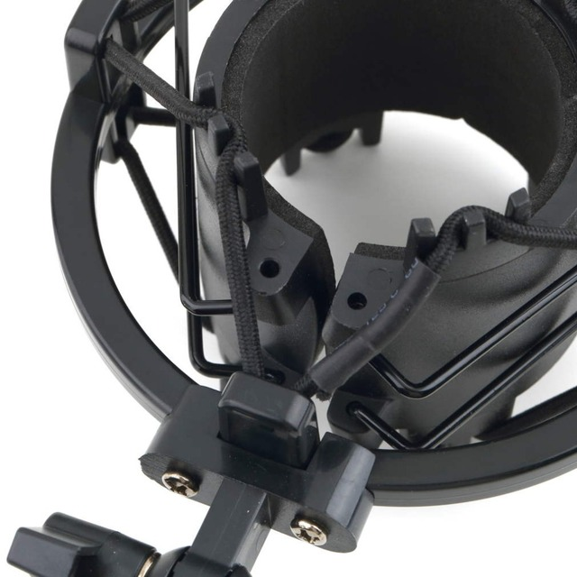 1Pcs Universal Mic Microphone Shock Mount Clip Holder Studio Sound Recording