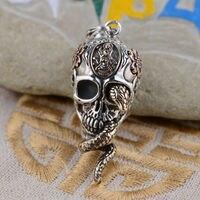 S925 sterling silver gilt Thailand original antique style unique cool struck