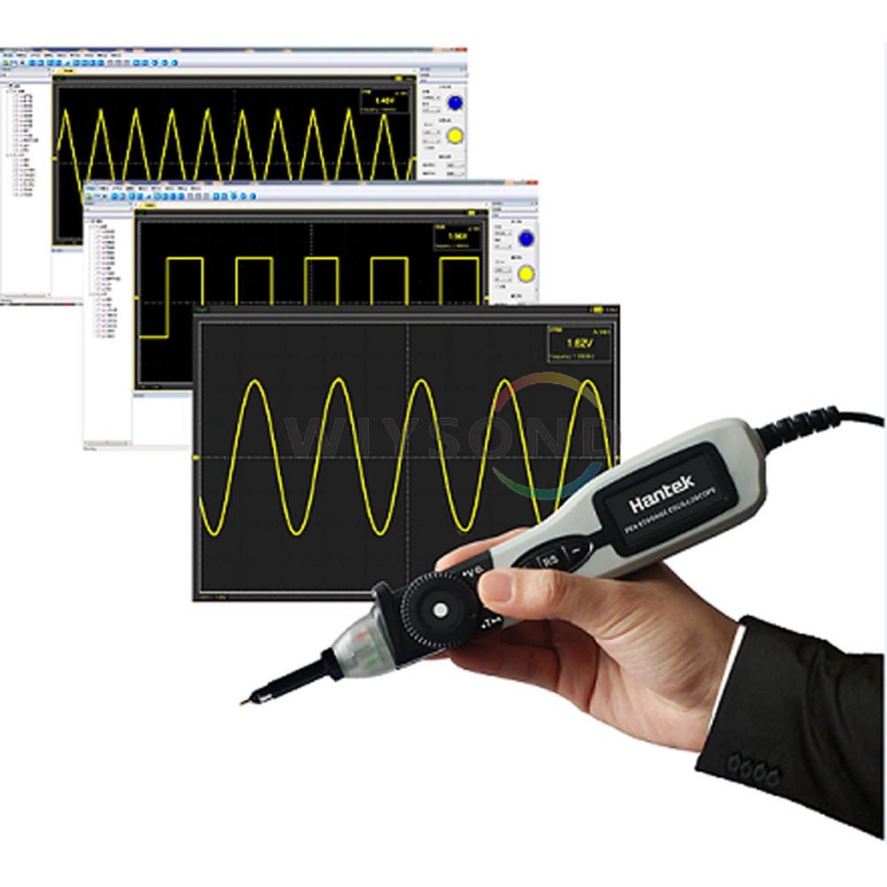 O067 HANTEK PSO2020 Bandwidth 20MHz  Sample Rate 96MSa/s Mini Portable Handheld Digital USB Pen Type Storage Oscilloscope цена и фото
