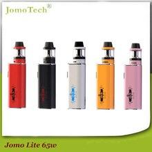Rusia entrega 0.4ohm jomotech kit de cigarrillo electrónico 65 w caja mod ecigarette vaporizador 2200 mah nueva lite 65 w vape mod jomo-210