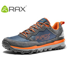 RAX Outdoor Hiking Shoes Men trekking shoes Winter Breathable Training Lightweight Sports Shoes for Men trekking boots 53-5C332