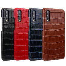 Luxury Genuine Leather Case for Huawei P20 Pro Case Crocodile Cowhide Pattern Fashion Cover for Huawei P20 Case P20 Plus P20+ for huawei p20 pro magnetic smart genuine leather flip case 3d crocodile texture luxury business cover for huawei p20 pro case