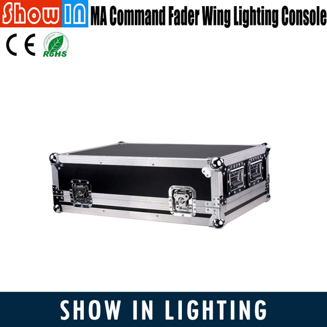 GrandMA2_ONPC Command and Fader Wing Light Console Controller Updated Latest Version Controladora DJ Lighting With Flightcase