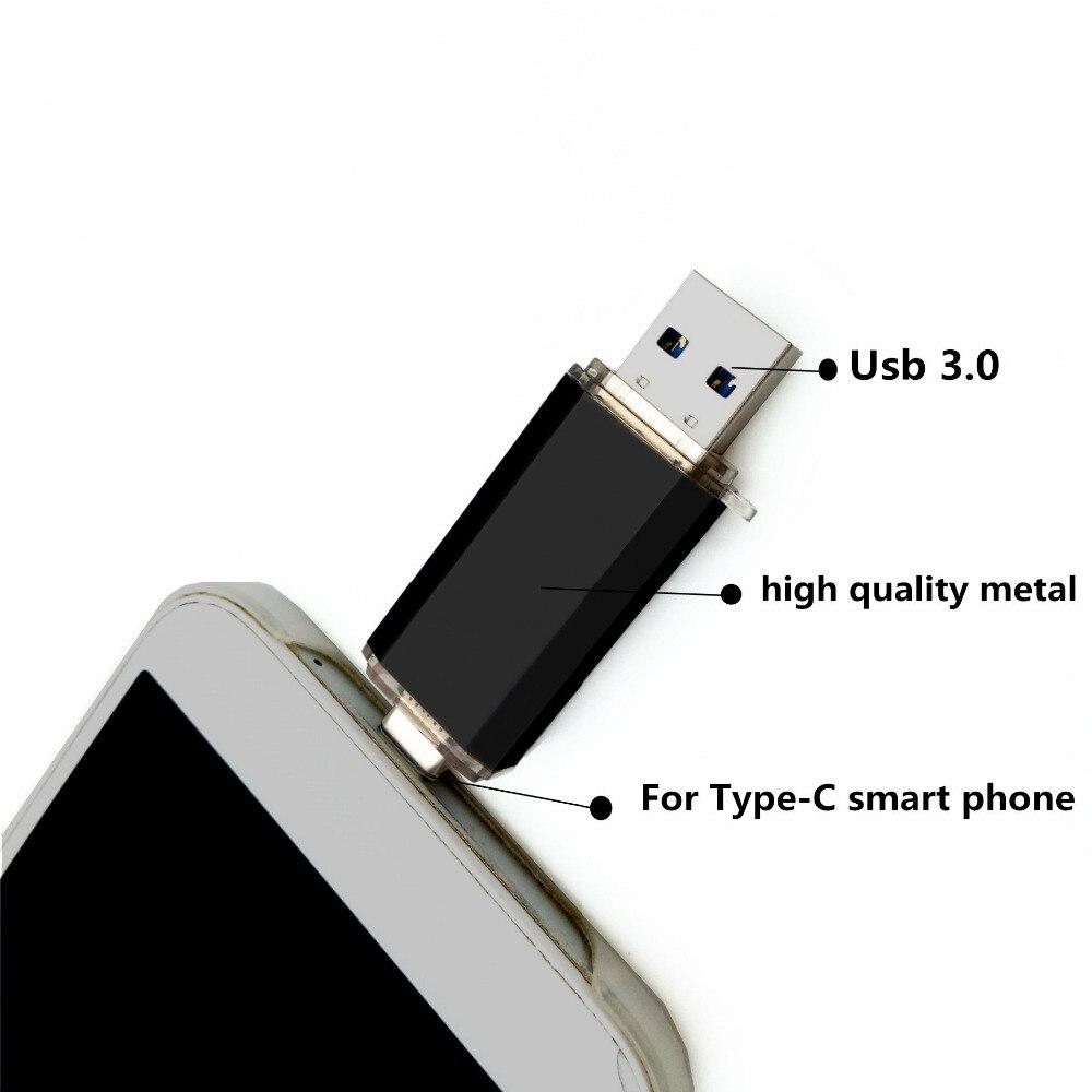 Type C 3 1 Dual OTG High Speed USB 3 0 Flash font b Drive b