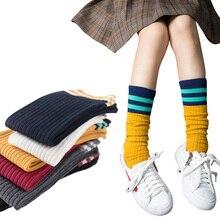 4 pairs/Lovely Childrens Knee High Socks for Toddlers Kids Baby Girls Cotton Princess Dress Ballet Long Sock leg warmer 2-12Y