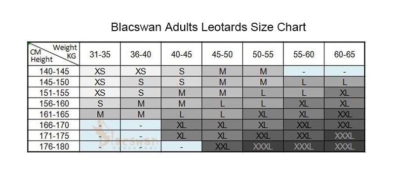 Adult Size Chart logo