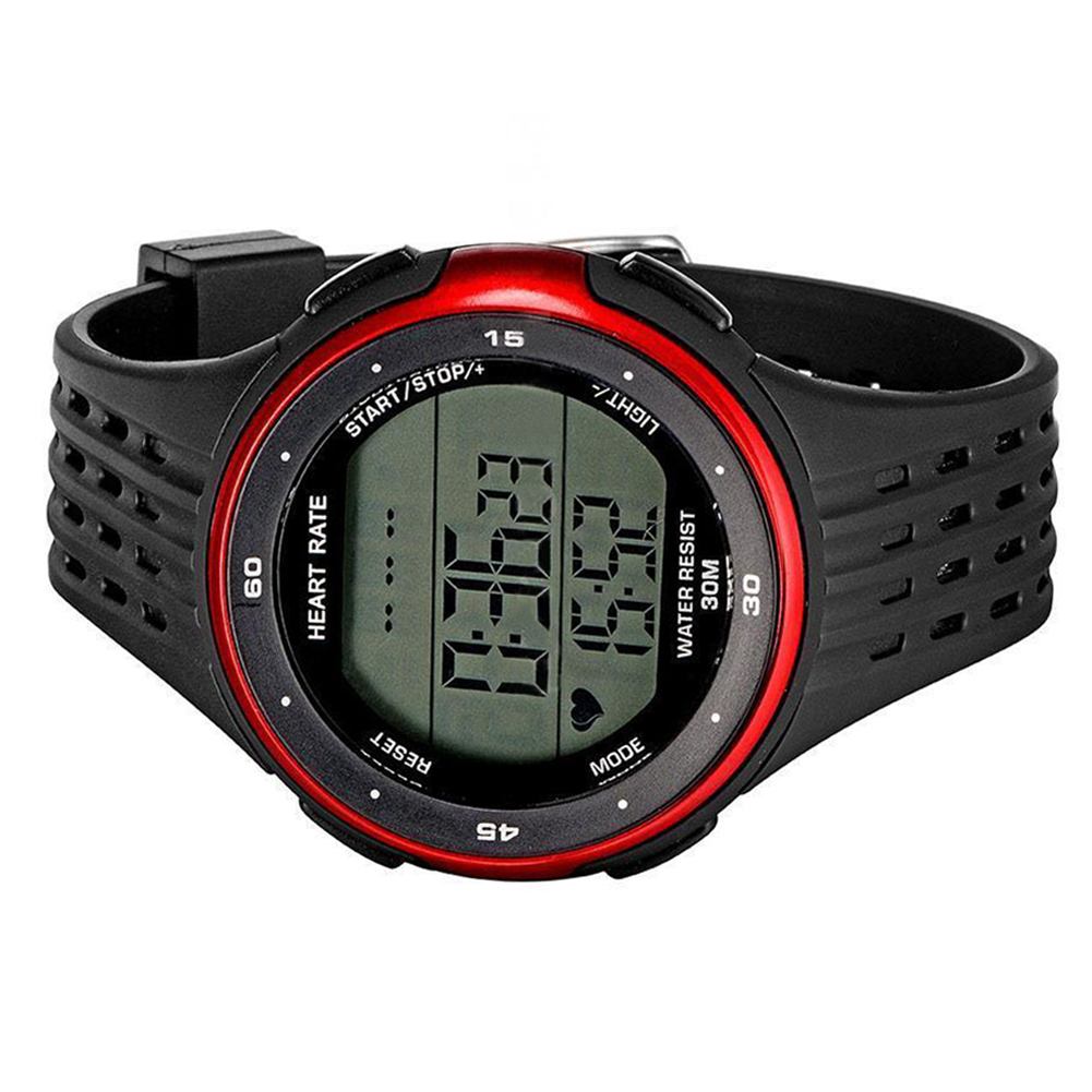 Top Deals Fitness Sport Smart Watch Pulse Heart Rate Monitor Chest Photo Of A Showing Strap And Colorred Black In Watches From Consumer Electronics On