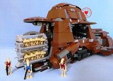 Tanque de Transporte De NOVA Federação MTT fit legoings figuras star wars droid robô tijolos de Blocos de Construção do modelo 7662 do presente Brinquedo do miúdo