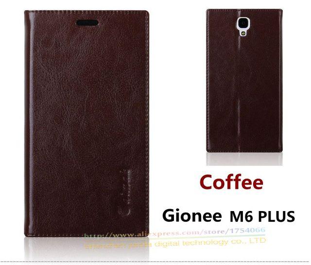 Luxo Top Qualidade do Couro Genuíno Stand Saco Do Telefone do Estilo do Livro de Moda caso Para Gionee GN8002S Tampa Articulada para m6 M6 Plus plus