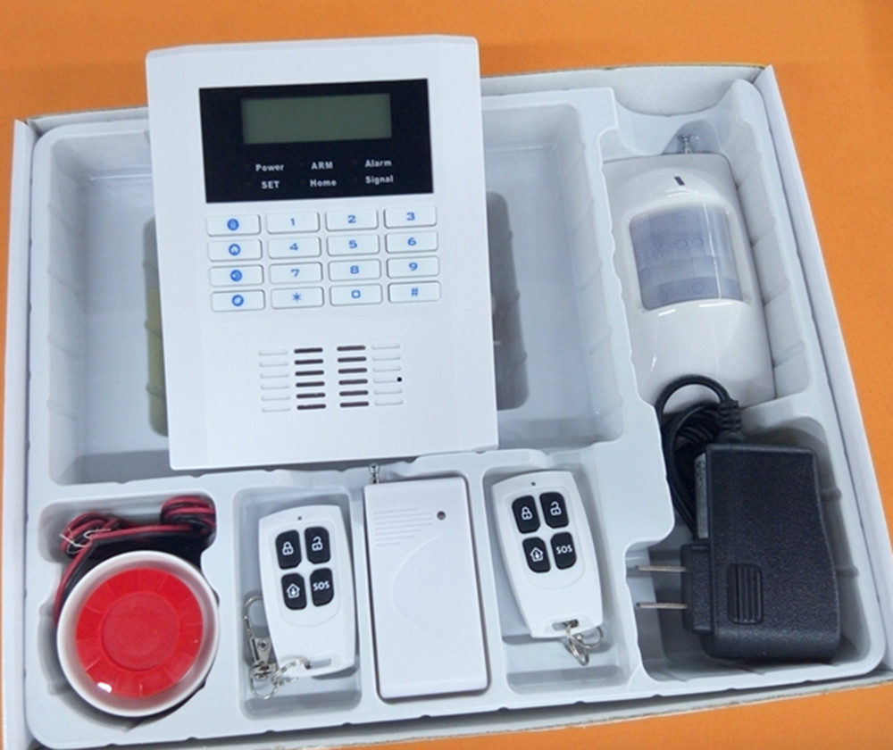 New Landing 433mzh Wireless GSM Alarm System PIR Motion Detector Burglar Alarm System 433mhz g90b intruder home alarm wireless security gprs gsm wifi alarm system with pir motion sensor wireless smoke detector
