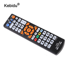 Kebidu الذكية IR التحكم عن بعد مع وظيفة التعلم ، 3 صفحات تحكم نسخة للتلفزيون STB DVD SAT DVB HIFI صندوق التلفزيون ، L336