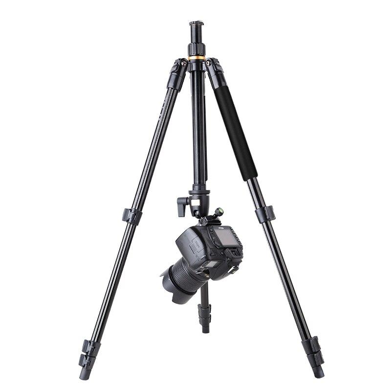 QZSD Q510 высокого качества Профессиональный переносной Путешествия видео штатив с монопод с Q01 шаровой головкой 160 см камеры аксессуары