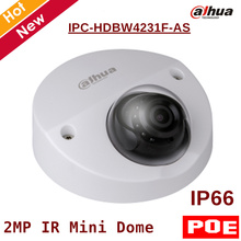 2MP English POE Dahua IP Camera IPC-HDBW4231F-AS IR distance 20m 1080P Security Camera Support sd card 128G IOS Android View