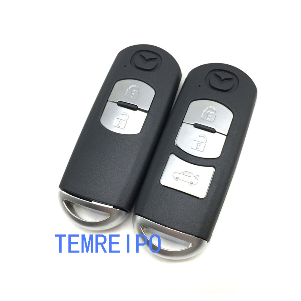 2 3 Buttons Smart Remote Key Shell for Mazda X-5/Summit/ Axela/Atenza /M3 /M6