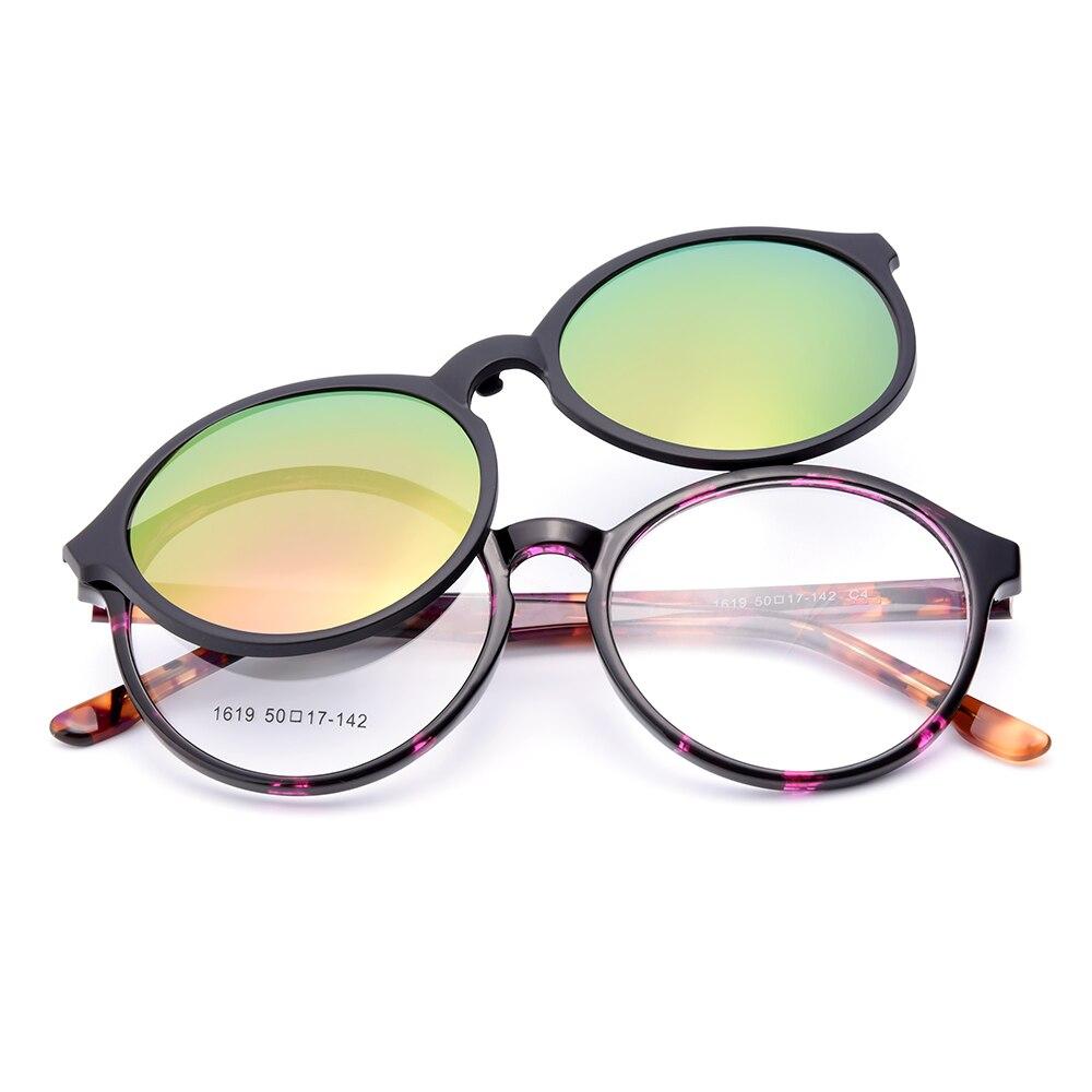 Gmei Optische 1619 Urltra-light TR90 Brillen Rahmen mit Polarisierte ... cbee752407
