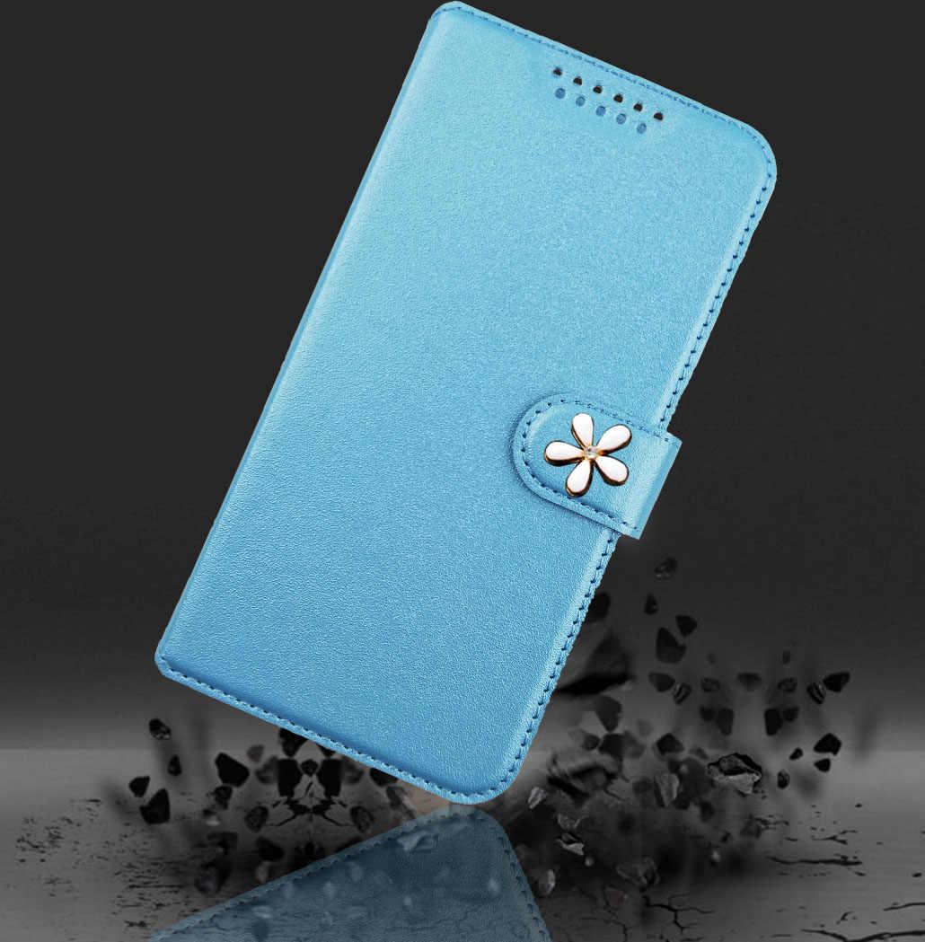 Nuevo Flip caso para Blackview Max 1 BV5500 S6 A30 A20 PRO impreso Flor Mariposa especial caja de cuero de la PU