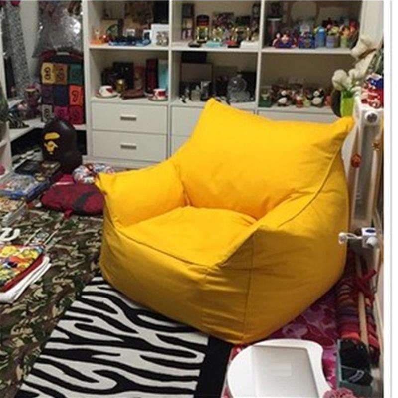 Poltrona Fauteuil Sedie Sandalyeler Silla Single Tatami Kids Bed Copridivano Poef Computer Beanbag Chair Cadeira Sofa Bean Bag 4