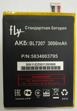 3000mAh new high quality original BL7207 BL 7207 battery For FLY IQ4511 BL7207 phone free shipping цены онлайн