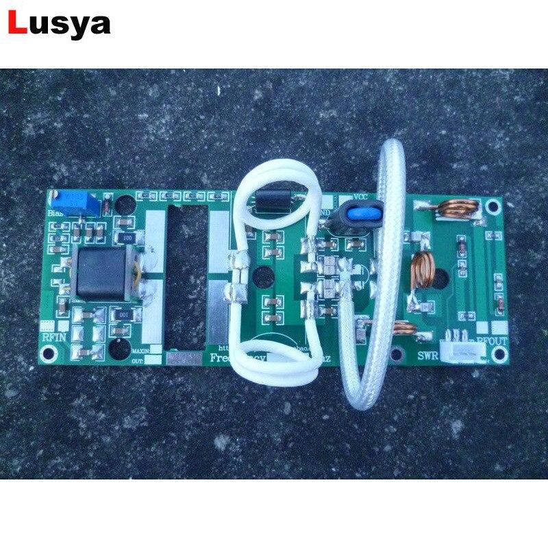 100W UHF 400 470MHZ 7 8A 24V Power Amplifier Board For Ham Radio DIY C4 004