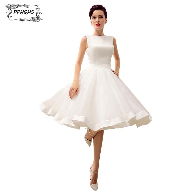 Real photo vestido de noiva cheap white short wedding for Cheap short white wedding dresses