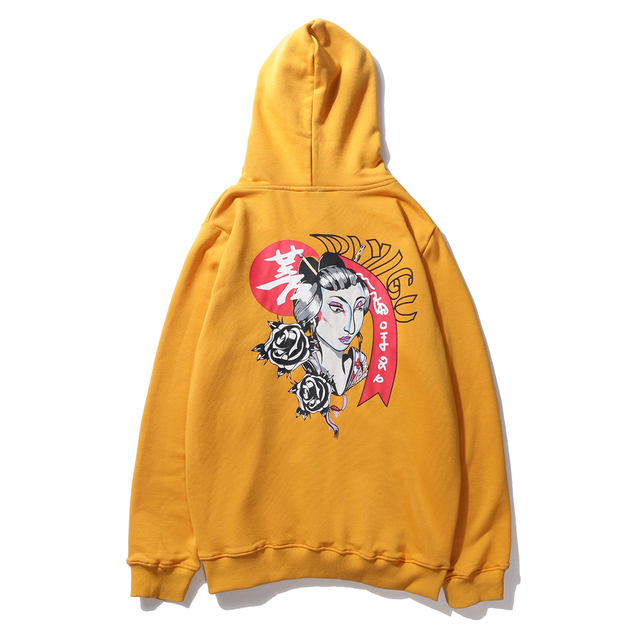 Aelfric Hoodies Women Japanese Loose Printed Pullover Sweatshirt Femme High Street Fashion Hip Hop Streetwear Hoodie Autumn DI01 5