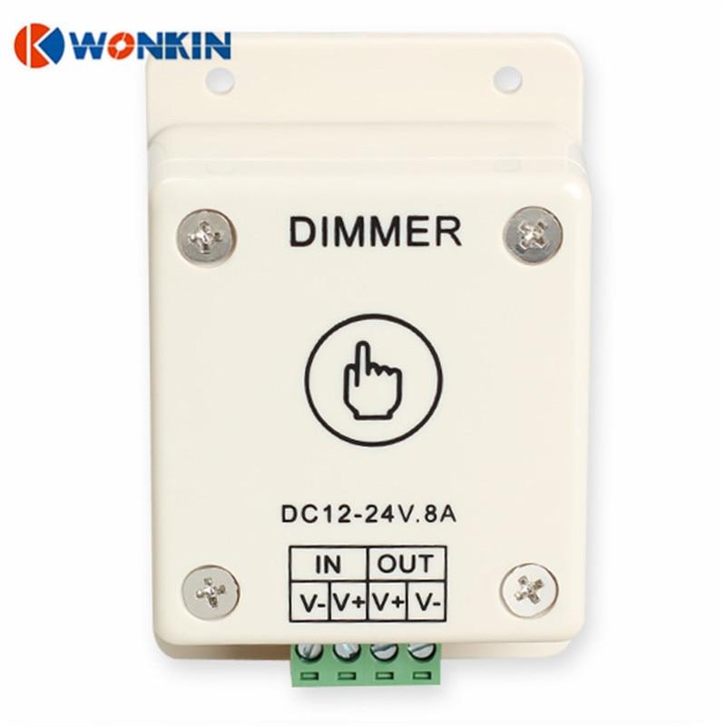 DC12-24V LED Dimmer Touch Touch Dimmer Luminozitate Control reglabil - Accesorii de iluminat - Fotografie 2