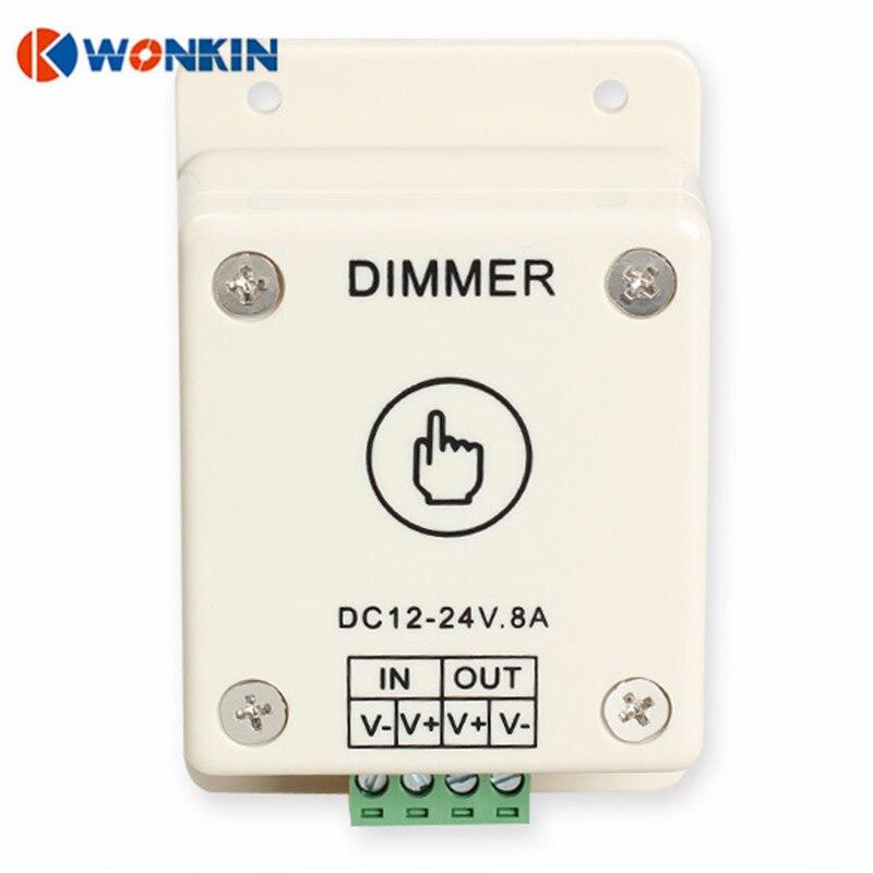 Dimmers controle de brilho ajustável 8a Modelo Número : Touch Sensor Dimmer