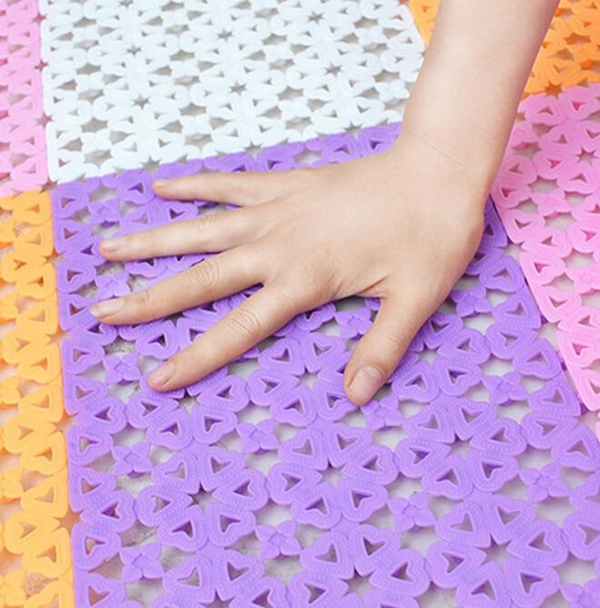 Neue kunststoff gummi rutschfeste dusche bad massage matte mosaik - Haushaltswaren - Foto 2