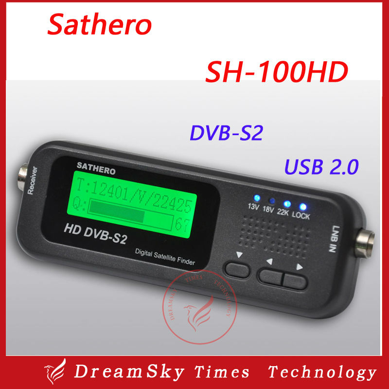 2016 Original Digital Satellite Finder Sathero SH-100HD Pocket Satellite Meter  Signal SatFinder DVB-S2 USB2.0 от Aliexpress INT