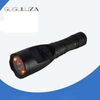 GUGULUZA Hunting Decoys Aluminum Mp3 Player Bird Caller 20W Speaker 126dB Louder Speaker Desert Timer With SOS Yellow Lights