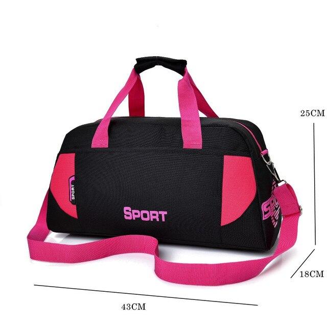 뜨거운 스포츠 가방 훈련 체육관 가방 남성 여성 피트니스 내구성 다기능 핸드백 야외 스포츠 어깨 가방