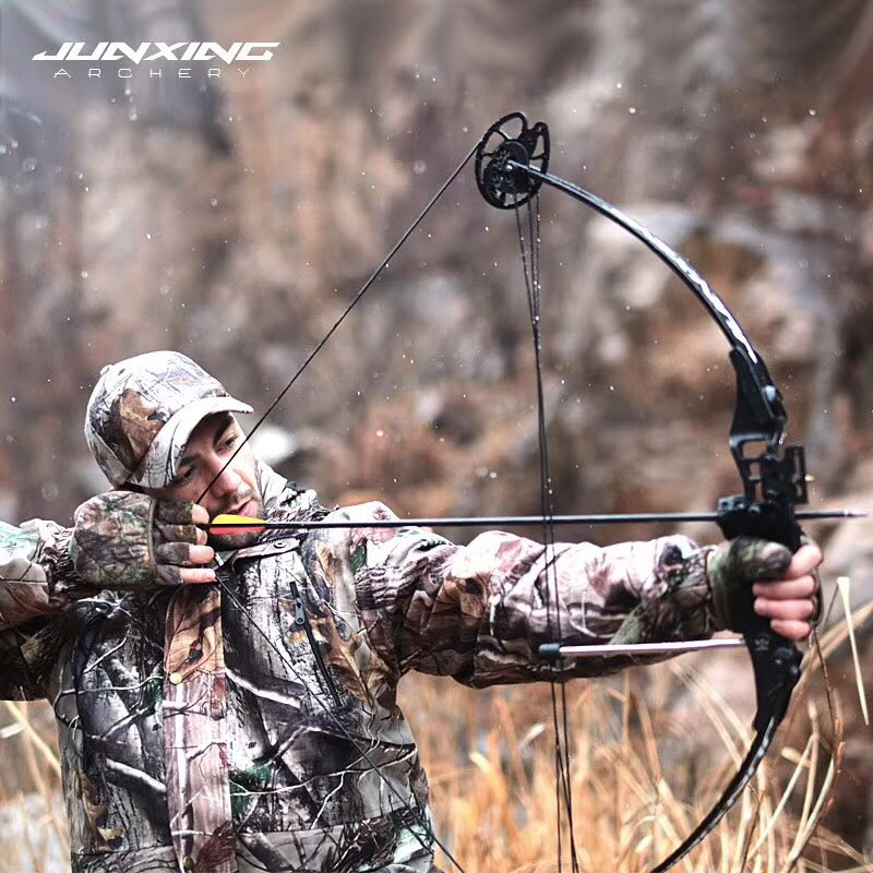Powerful Compound Bow 30-45 lbs Adjustable Archery Bow Outdoor Compound Bow and Arrow Hunting Shooting Fishing Dart archery hunting 30 40 lbs compound bow right hand adjustable bow set for shooting fishing target outdoor practice
