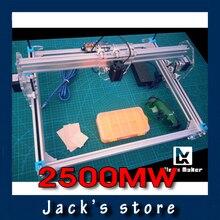 X-Benbox, 300*400mm, 2500 MW gran DIY máquina de grabado láser, 2.5 W máquina de la marca de bricolaje, bricolaje máquina de grabado láser, avanzado juguetes