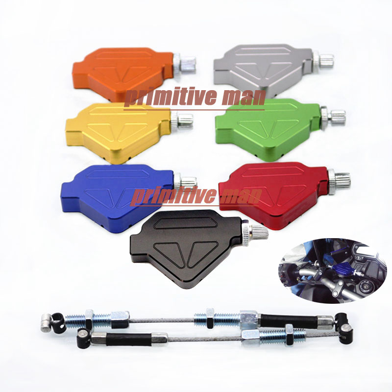 Motorcycle CNC Aluminum Stunt Clutch Lever Easy Pull Cable System 7 colors