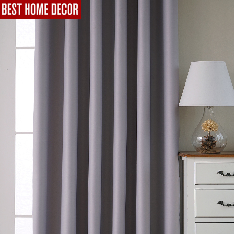 Bedroom Curtains Uk Only: Modern Blackout Curtains For Living Room Bedroom Curtains