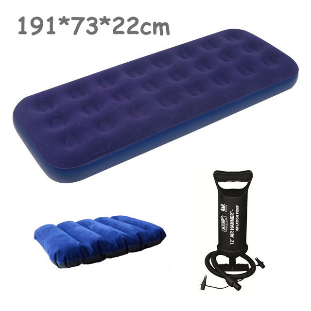 High Quality Relax Jilong Inflatable Air Mattress Single Size Bed 191 73