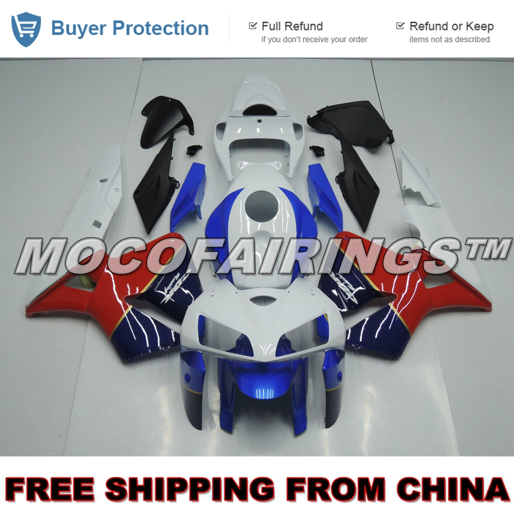 Injection ABS Plastic HRC Motorcycle Full Fairings For CBR600 CBR600RR F5 CBR Racing 2005 2006 Fairing Kits