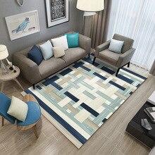 Nordic Living Room Carpet Customizable Bedroom Sofa Coffee Table Area Rug Study Floor Mat Modern Kids Tatami Rugs